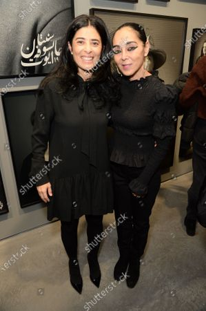 Liza Essers and Shirin Neshat