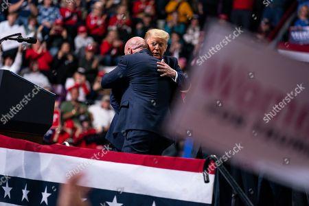 Editorial image of Election 2020 Trump, Colorado Springs, USA - 20 Feb 2020