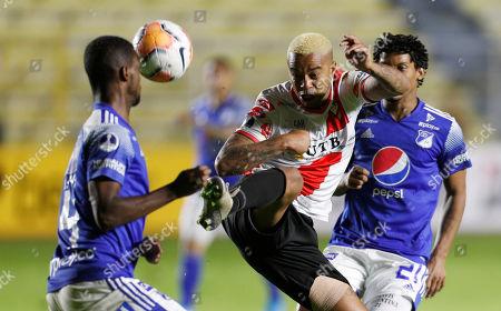 Editorial photo of Colombia Soccer Copa Sudamericana, La Paz, Bolivia - 12 Feb 2020