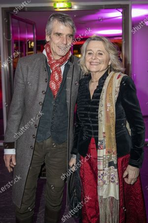 International Jury president Jeremy Irons (L) and his wife Sinead Cusack arrive at the opening reception party of the 70th annual Berlin International Film Festival (Berlinale), at the Kulturforum in Berlin, Germany, 20 February 2020. The Berlinale runs from 20 February to 01 March 2020.