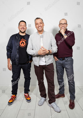 "Editorial photo of ""Impractical Jokers: The Movie"" Portrait Session, New York, USA - 20 Feb 2020"
