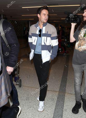 Editorial image of Liam Payne out and about, LAX International Airport, Los Angeles, USA - 20 Feb 2020