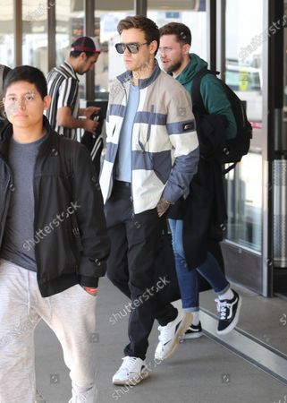 Editorial picture of Liam Payne out and about, LAX International Airport, Los Angeles, USA - 20 Feb 2020