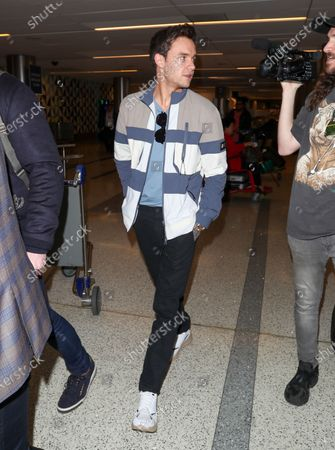 Editorial photo of Liam Payne out and about at LAX International Airport, Los Angeles, USA - 20 Feb 2020
