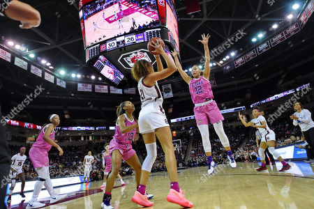 Editorial picture of LSU South Carolina Basketball, Columbia, USA - 20 Feb 2020