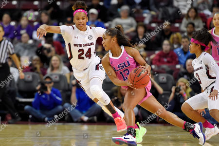 Editorial image of LSU South Carolina Basketball, Columbia, USA - 20 Feb 2020