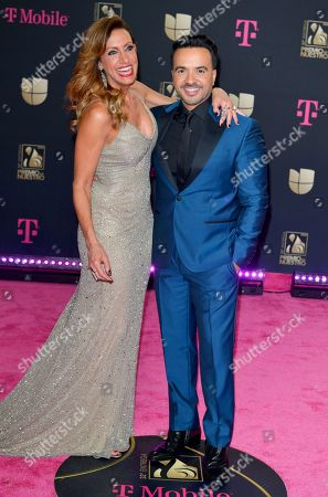Lili Estefan and Luis Fonsi