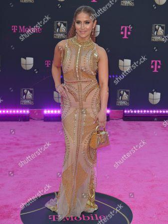 Editorial image of Premio Lo Nuestro Awards, Arrivals, AmericanAirlines Arena, Miami, USA - 20 Feb 2020