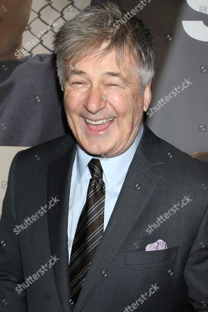 "Alec Baldwin attends the Broadway opening night of ""West Side Story"" at The Broadway Theatre, in New York"