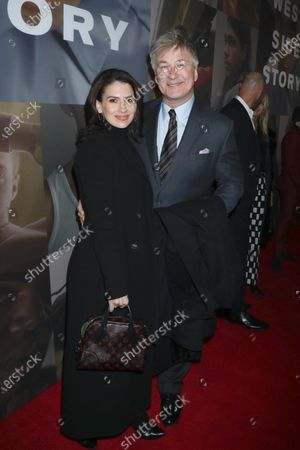 Hilaria Baldwin and Alec Baldwin