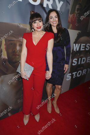 Jessica Vosk and Isabel Leonard