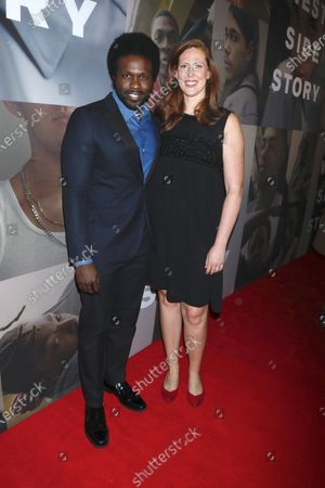 Stock Picture of Joshua Henry and Cathryn Stringer