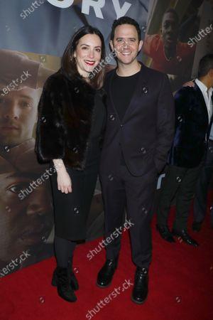 Santino Fontana and wife Jessica Hershberg