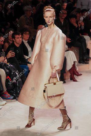 Editorial image of Fendi show, Runway, Fall Winter 2020, Milan Fashion Week, Italy - 20 Feb 2020