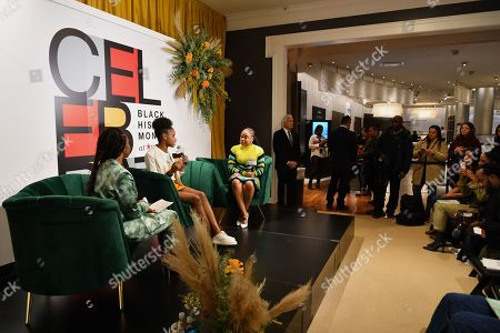 Editorial photo of 'A Conversation with Phoebe Robinson and Marley Dias', Macy's Black History Month celebrations, Macy's, Herald Square, New York, USA - 20 Feb 2020