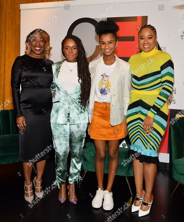 Stock Picture of Shawn Outler, Gia Peppers, Marley Dias and Phoebe Robinson