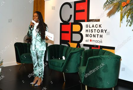Editorial picture of 'A Conversation with Phoebe Robinson and Marley Dias', Macy's Black History Month celebrations, Macy's, Herald Square, New York, USA - 20 Feb 2020