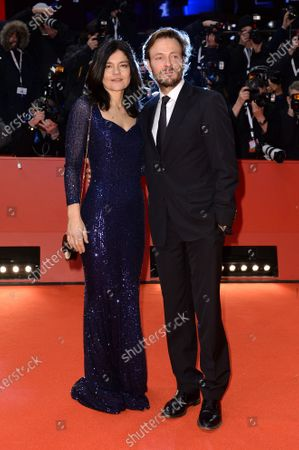 Stock Picture of Jasmin Tabatabai and Andreas Pietschmann
