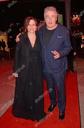 Stock Image of Martina Gedeck and Markus Imboden