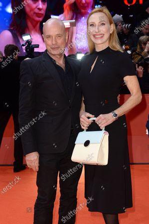 Stock Picture of Christian Berkel and Andrea Sawatzki