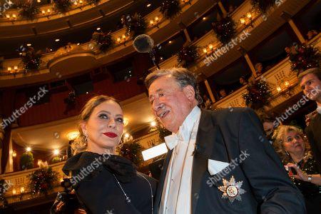 Editorial image of 64th Vienna Opera Ball opening night, Austria - 20 Feb 2020