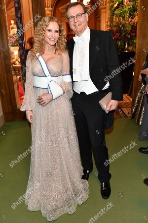Editorial picture of 64th Vienna Opera Ball opening night, Austria - 20 Feb 2020