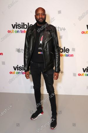 """Patrik-Ian Polk attends Apple's """"Visible: Out on Television"""" screening at The Castro Theatre, San Francisco's Historic Movie Palace. """"Visible: Out on Television"""" is available to watch now on Apple TV+."""