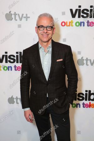 "Jess Cagle, Chief Entertainment Anchor, SiriusXM and Host, The Jess Cagle Show, attends Apple's ""Visible: Out on Television"" screening at The Castro Theatre, San Francisco's Historic Movie Palace. ""Visible: Out on Television"" is available to watch now on Apple TV+."