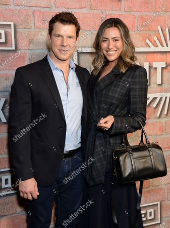 Eric Mabius and guest