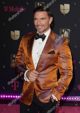 Editorial picture of Premio Lo Nuestro Awards, Arrivals, AmericanAirlines Arena, Miami, USA - 20 Feb 2020