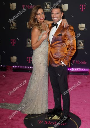 Lili Estefan and Julian Gil