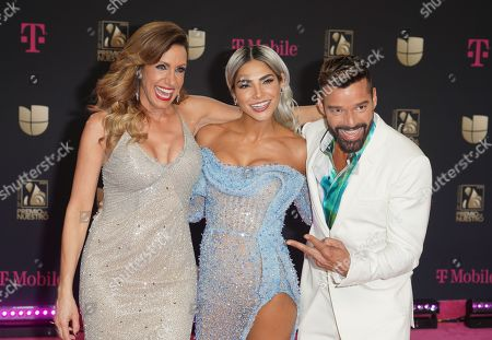 Editorial picture of Premio Lo Nuestro Awards, Arrivals, AmericanAirlines Arena, Miami, USA - 20 Feb 2020