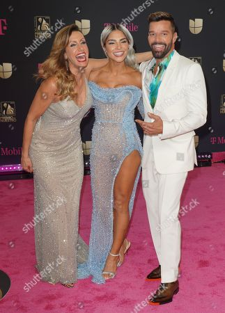 Editorial photo of Premio Lo Nuestro Awards, Arrivals, AmericanAirlines Arena, Miami, USA - 20 Feb 2020