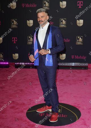 Editorial photo of Premio Lo Nuestro Awards, Arrivals, AmericanAirlines Arena, Miami, USA - 20 Feb 2020