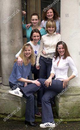 Daisy Pulls It Off Cast Members; Jane Mark Anna Francolini Katherine Heath Hannah Yelland Katherine Igoe And Emma Stansfield