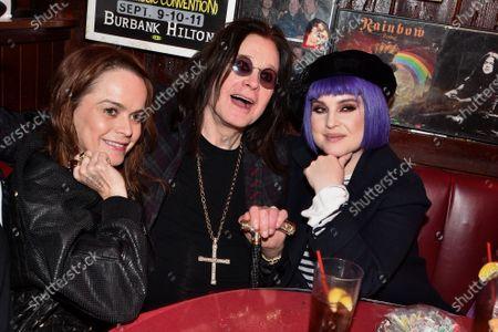 Taryn Manning, Kelly Osbourne, Ozzy Osbourne