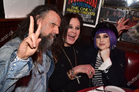 Rob Zombie, Kelly Osbourne, Ozzy Osbourne