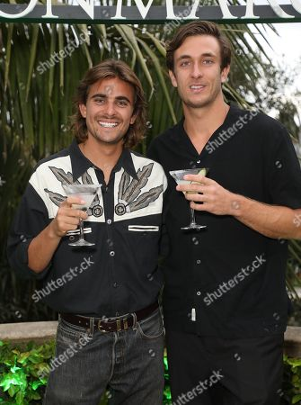 Stock Image of Matt Ford and Jack Steele