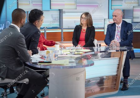 Editorial image of 'Good Morning Britain' TV show, London, UK - 21 Feb 2020