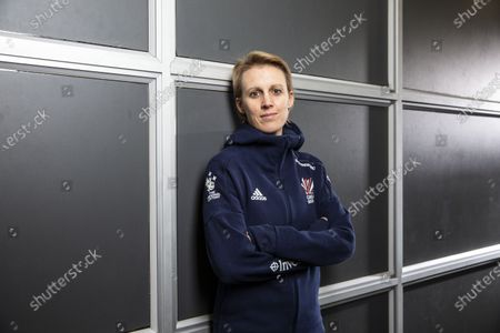 Hockey player Alex Danson who has announced her retirement from the sport.