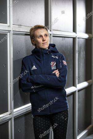Editorial image of Hockey player Alex Danson photoshoot, UK - 20 Feb 2020