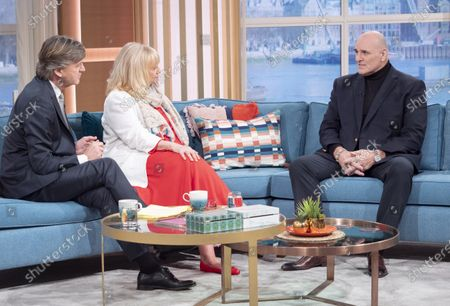 Stock Photo of Judy Finnigan and Richard Madeley with John Fury