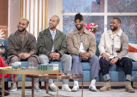 JLS - Aston Merrygold, Oritsé Williams, Marvin Humes, and Jonathan Gill