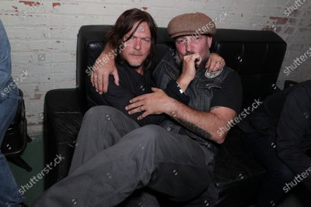 Stock Image of Norman Reedus, Brian Bowen Smith