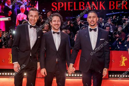 Kai Pflaume, Fahri Ogün Yardim and Andreas Bourani