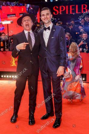 Stock Photo of Robert Stadlober and Patrick Moelleken