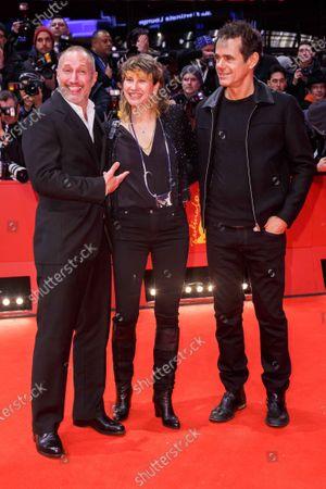 Stock Image of Benno Fuermann, Marie Steinmann and Tom Tykwer