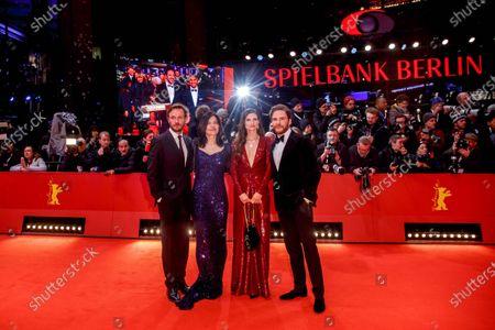 Christian Pietschmann, Jasmin Tabatabai, Felicitas Rombold and Daniel Bruhl