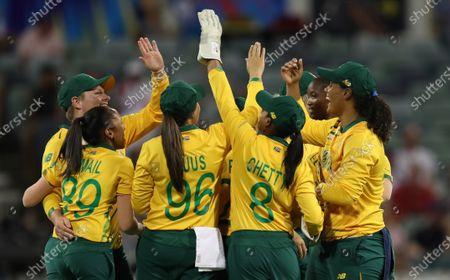 Editorial image of England v South Africa, ICC Women's T20 World Cup, WACA stadium, Perth, Australia - 23 Feb 2020