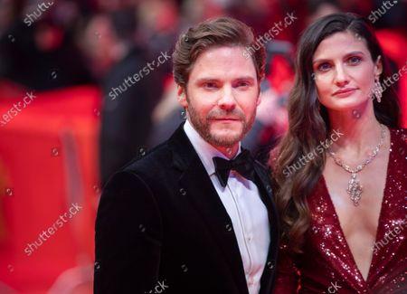 Felicitas Rombold and Daniel Bruhl